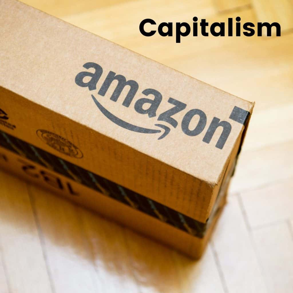 Capitalism-Amazon Box