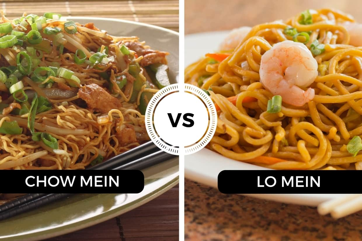 chow mein vs lo mein  solving the noodle mystery