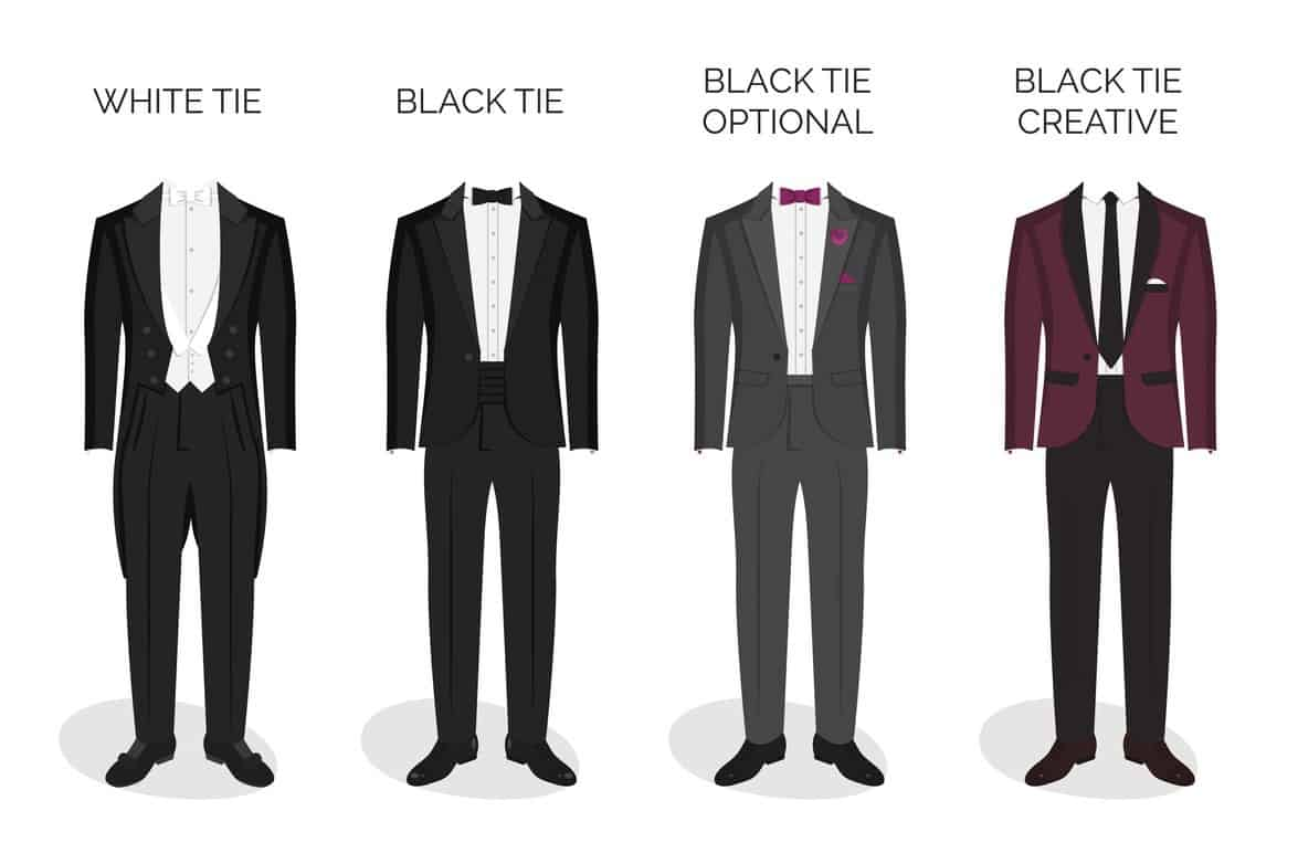 For Example Back In The Day Formal Dress Was A Black Tailcoat And White Tie These Were Worn What Still Are Called Events