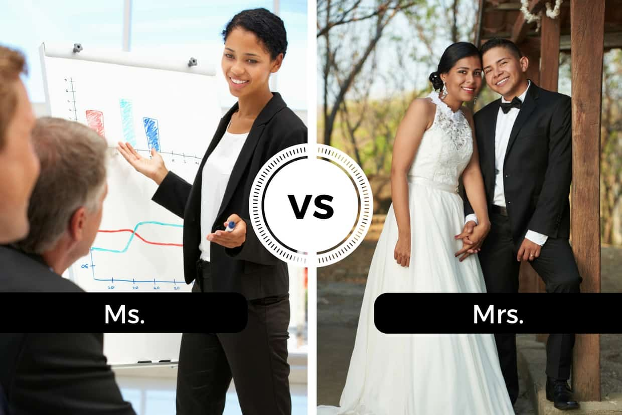 Ms. vs Mrs.