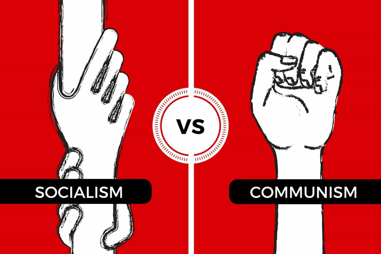 socialism vs communism - how are they different?