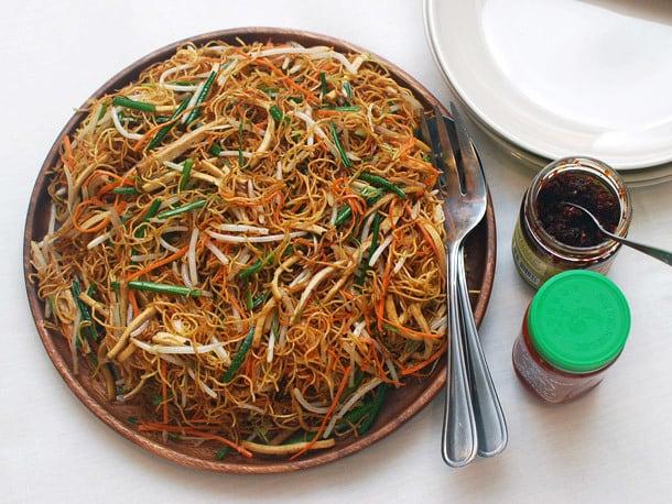 Crunchy chow mein
